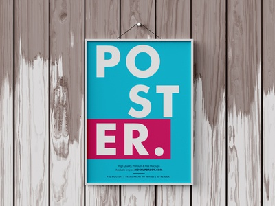 Wall Poster Mockup