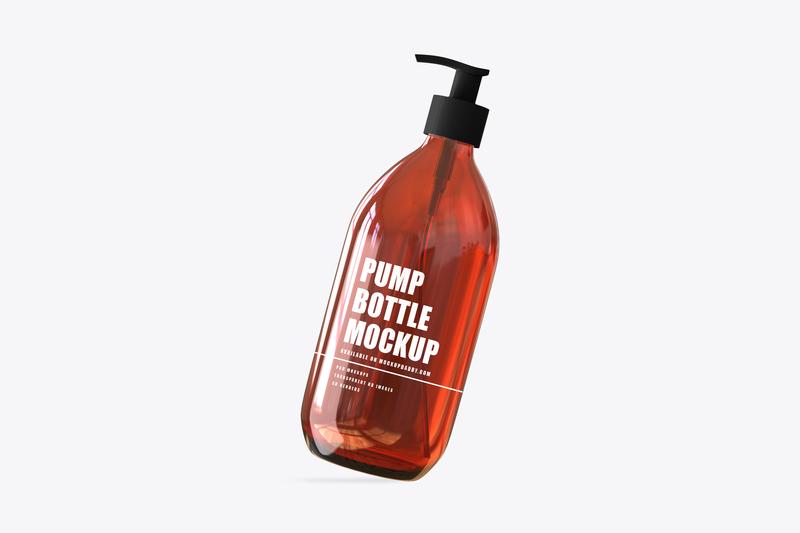 Amber Bottle Mock-Up premium mockups psd mockups bottle mockups mockups premium best packaging label design design mockup branding packaging design packaging