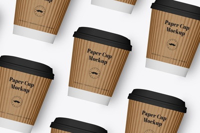 Coffee Cup Mockup - 3 Sizes