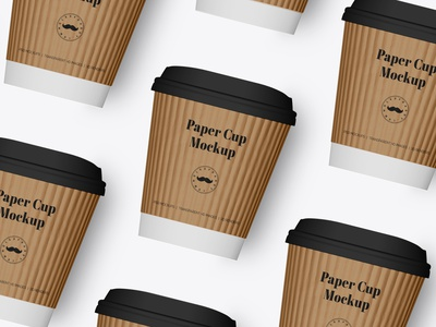 Coffee Cup Mockup - 3 Sizes packaging mockup psd mockup premium packaging food packaging best packaging packaging design inspiration logo design psdmockup cafe branding label packaging psd mockup cup coffee