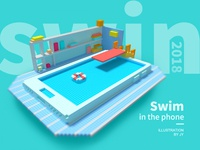 Swim in the phone