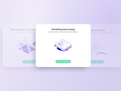 404 Error design ui illustration icon