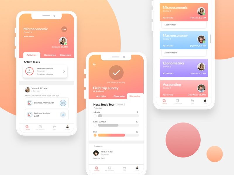 Google Classroom Redesign Concept