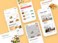 Southeast Asian Food Finder App Concept