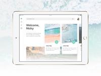Trip Planner App for iPad - UI Exploration