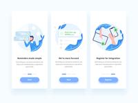 Onboarding Design for To-Do List app