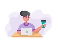 Freelancer's Day Illustration