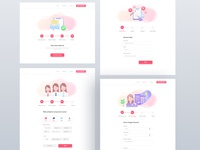 Teaching Platform Website UI
