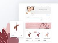 Cosmetic Ecommerce website exploration