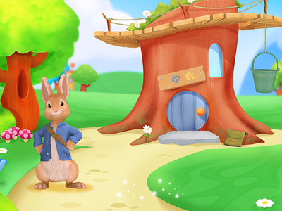 Peter Rabbits house