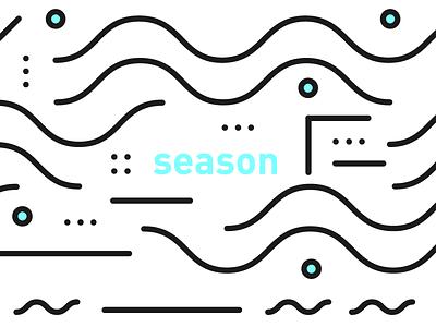 cultivation — season cultivation simple season geometric minimal black white blue