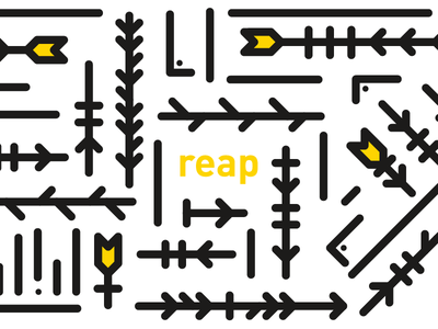 cultivation — reap plants crops cultivation reap simple geometric minimal white black yellow