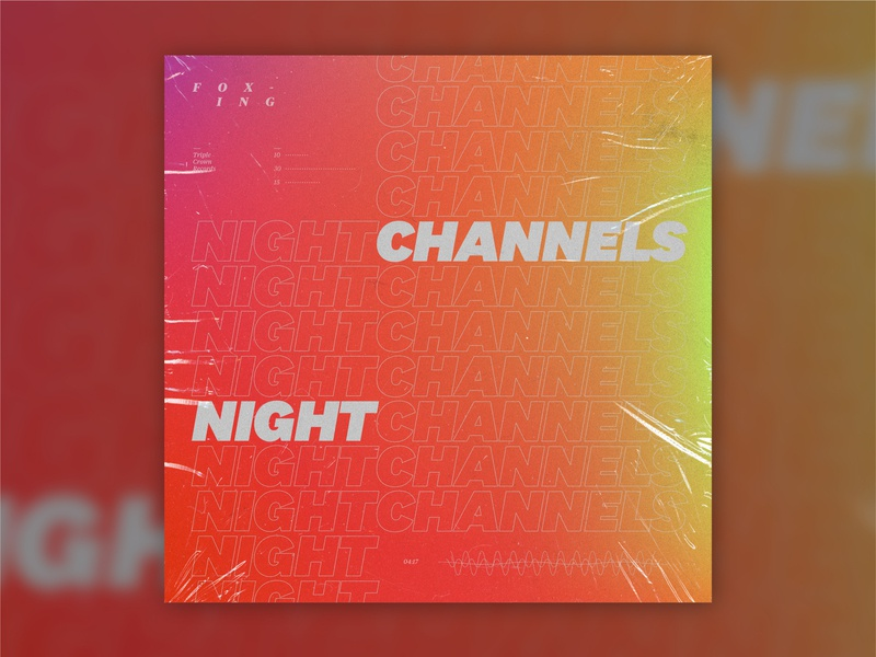 B-Sides — Night Channels night channels foxing b-sides layout album