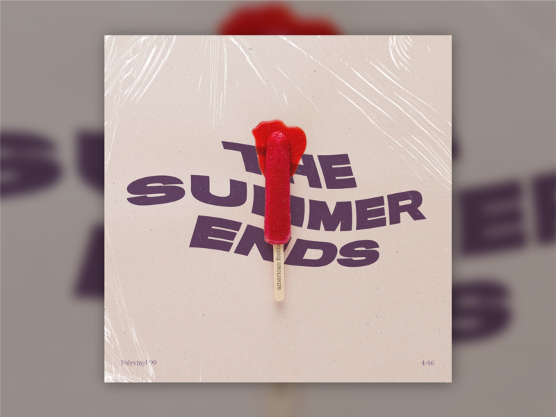 B-Sides — The Summer Ends warp melting popsicle american football b-sides album art the summer ends