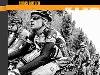 Pro Cyclist Chris Butler