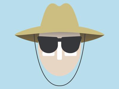 Beach Guy Icon