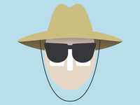 Beach Guy Icon