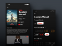 Movie Booking App UI/UX