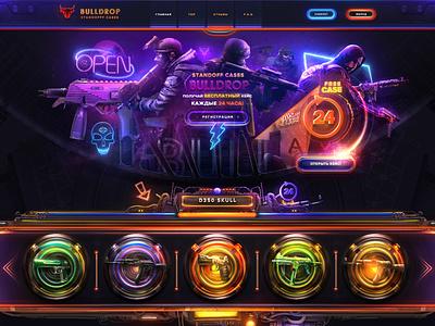 Opencase CSGO: Bulldrop.net standoff sale bulldrop cases csgo game roulette