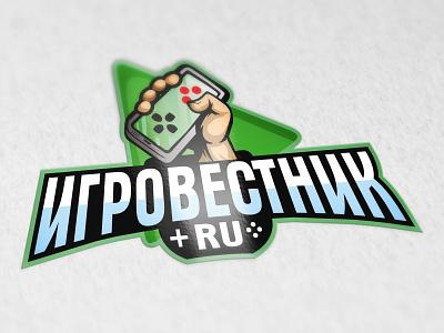 ИГРОВЕСТНИК steam illustration juicyart vector logo game