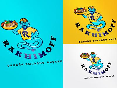 Rakhimoff (Delivery food) delivery rakhimoff rakhimoff food branding logo