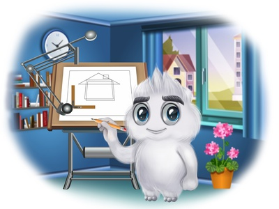 Character design: Belik belik character 2d vector illustration juicyart