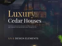 Luxury Cedar   Landing Page
