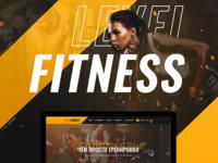 Website design for Level Fitness