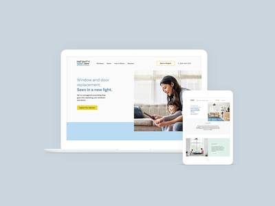 Infinity from Marvin Website ux ui digital graphic  design design website design webdesign website
