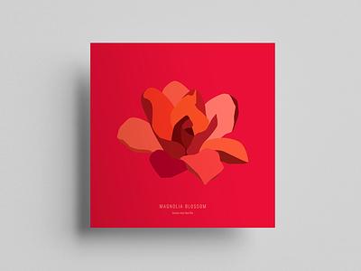Magnolia Blossom illustrator vector graphic  design illustration design