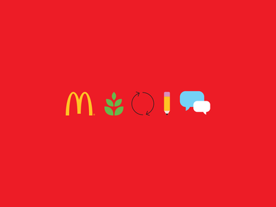 Unused - Scale for Good Initiative by McDonald's corporate branding corporate identity corporate design corporate symbols icon branding illustrator digital vector graphic  design illustration design