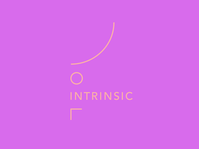 Intrinsic abstract lines mark logo