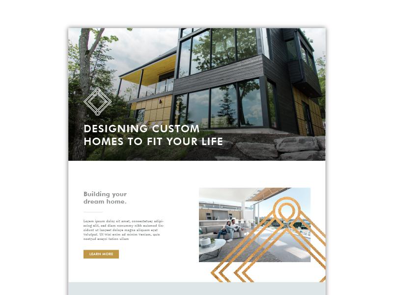 Paar Developments Website Concept ui web web design brand branding website