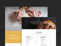 Bakery - Web Design