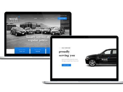 West Cabs Web Design