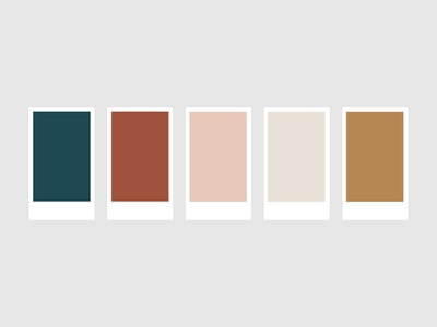 Colour Palette for Sarah May Designs