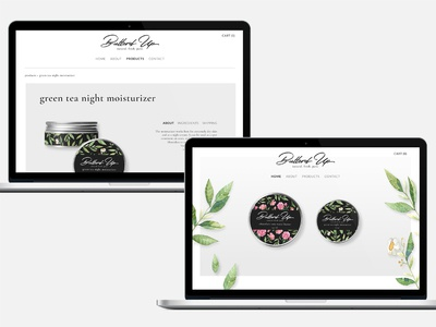 Butterd Up | Organic Body Butter Website