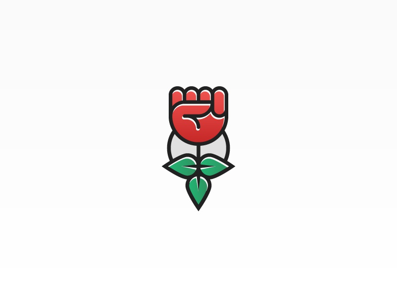 Rose Logo By Asdh Dribbble Dribbble
