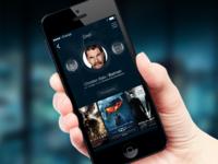 iOS7 Profile Screen