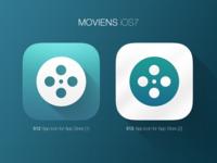 iOS7 Icon - Moviens