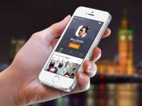 iOS7 Profile Screen - Meet&Eat