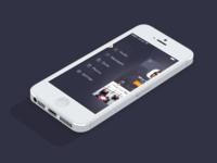 iOS7 Menu - Meet&Eat