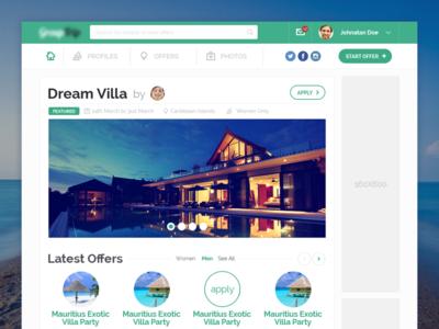Travel WebApp