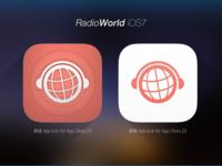 iOS7 Icon - RadioWorld