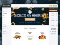 E-Commerce ‧ Groceries WebApp