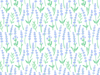 lavender pattern.