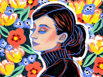 Women's History Month Commission audrey hepburn