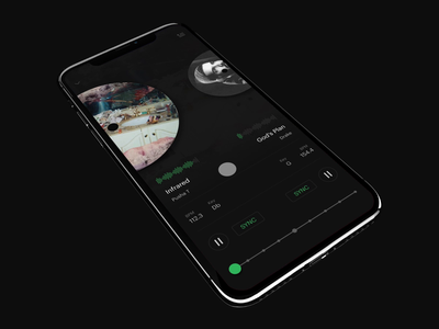 Spotify DJ Feature drake mobile invision studio studio invision streaming player dj feature spotify music branding interaction visual animation design interface experience ux ui