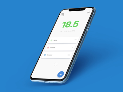 Productivity App Concept add typography design material experience studio invision studio invision flow journey lesson productivity interaction animation visual interface ux ui