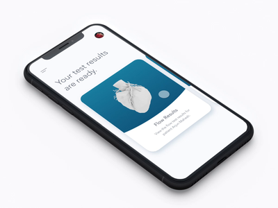 Medical Results App typography invision studio studio invision medical interaction animation visual design interface experience ux ui